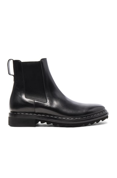 Leather Vulcano Chelsea Boots