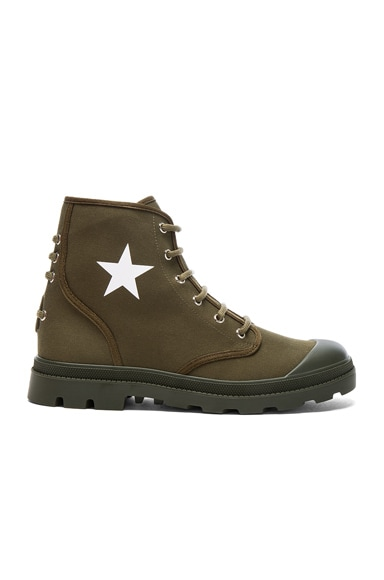Canvas Star Sneaker Boots