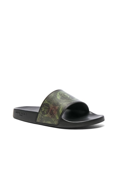 Givenchy Slide Sandals in Multi