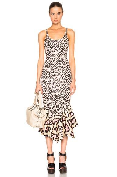 Leopard Print Tank Dress
