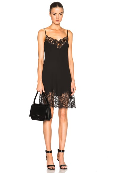 Givenchy Silk Camisole Dress in Black