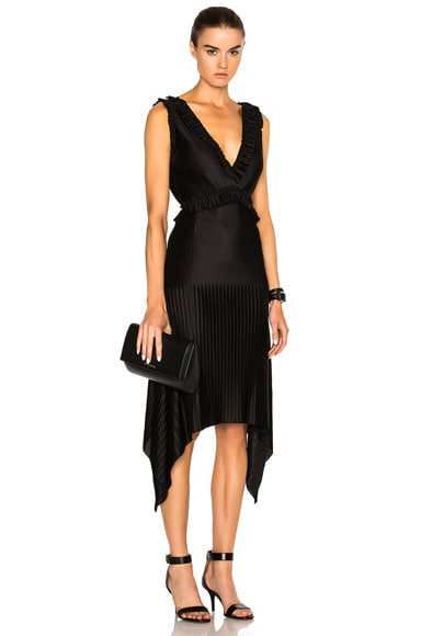 Givenchy Pleated Dress in Black