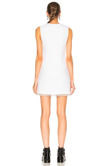 Pearl Trim Dress