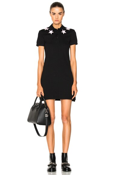 Star Polo Shirt Dress Givenchy