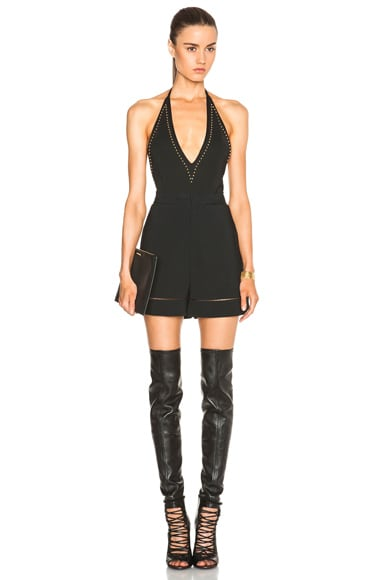 GIVENCHY Studded Bodysuit in Black