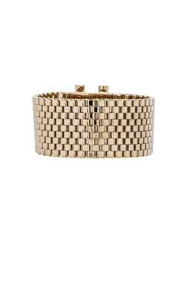 Givenchy Mesh Octagon Bracelet in Gold