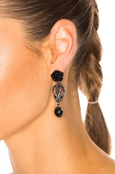 Rosario Rose Earrings