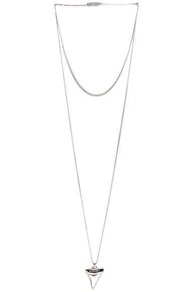 Small Shark Tooth Necklace