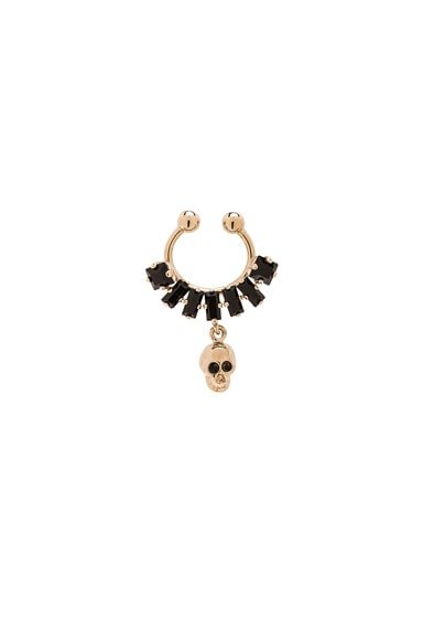 GIVENCHY Skulls Septum Ring in Metal
