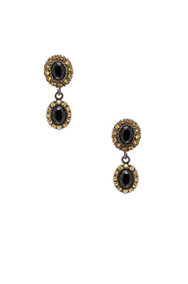 Givenchy Diamond Colors Small Drop Earrings in Multi