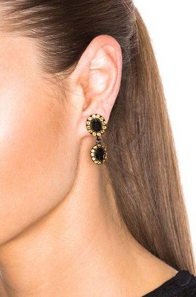 Diamond Colors Small Drop Earrings