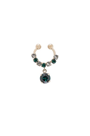 Givenchy Diamond Colors Pendant Septum Ring in Multi