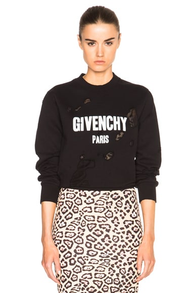 GIVENCHY Sweatshirt in Black