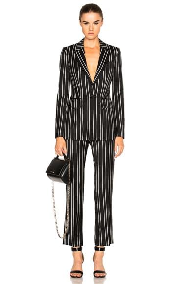 Jacquard Stripe Blazer