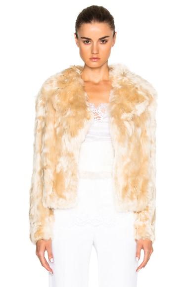 Alpaca Fur Jacket