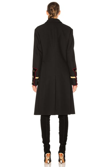 Canvas Wool Coat