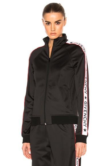 Givenchy Band Bomber in Black