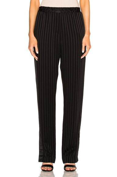 Givenchy Thin Stripe Trousers in Black