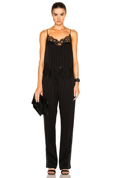 Thin Stripe Trousers