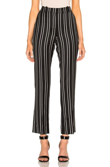 Givenchy Jacquard Stripe Pant in Black