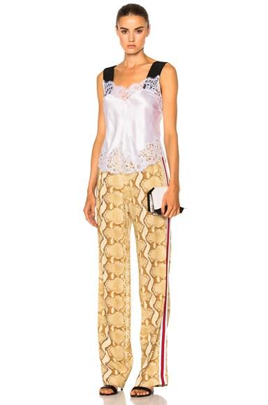 Snakeskin Printed Trouser