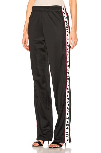 Givenchy Band Track Pant in Black