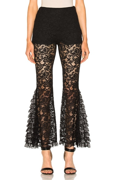 Lace Flared Pants