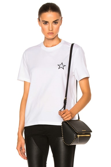 Givenchy Star Tee in Black & White