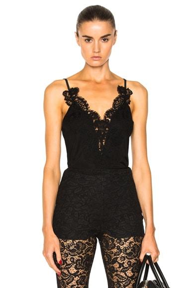 Lace Trim Tank Givenchy