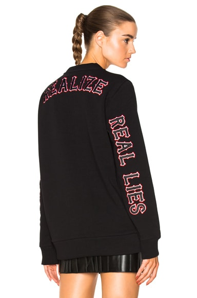 Sweatshirt with Patches Givenchy
