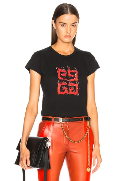 Flame 4G Graphic Tee