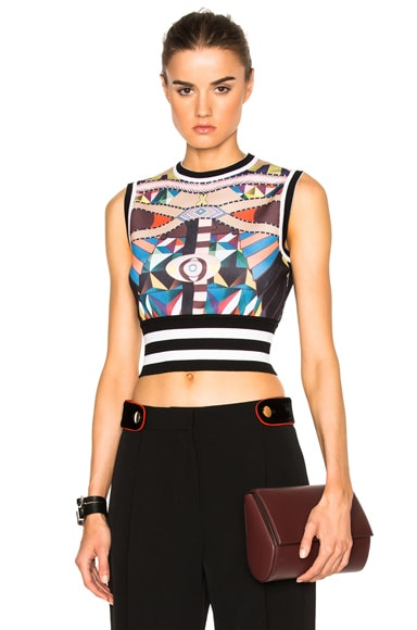 Crazy Cleopatra Printed Knit Top