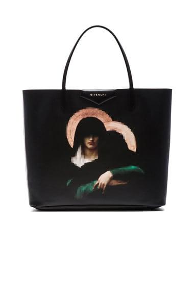GIVENCHY Madonna Antigona Shopper in Black