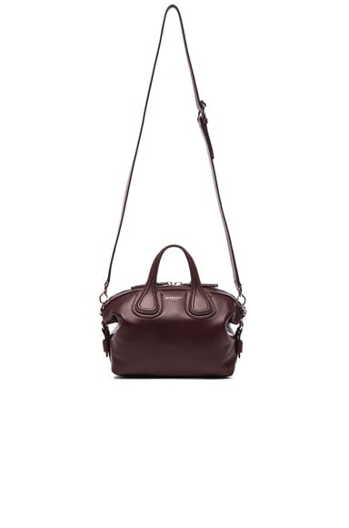 GIVENCHY Micro Nightingale in Oxblood
