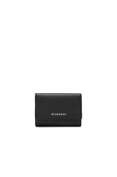 Givenchy Compact Wallet in Black