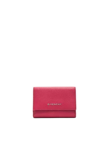 Givenchy Compact Wallet in Raspberry