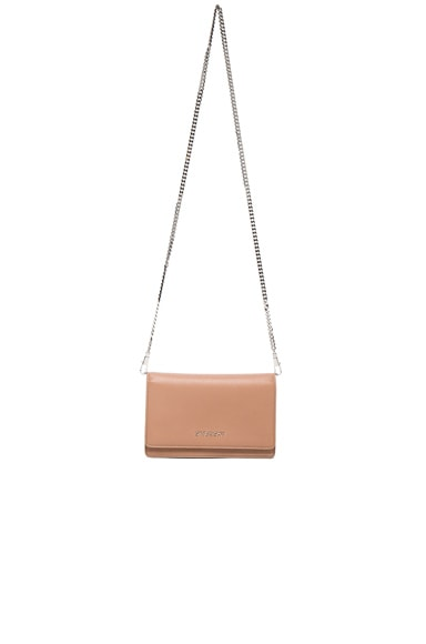 Givenchy Pandora Chain Wallet in Old Pink