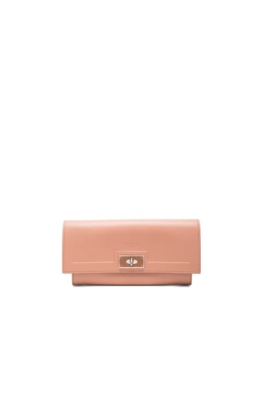 Givenchy Shark Long Flap Wallet in Old Pink