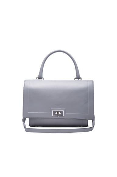 Givenchy Small Shark Lock in Pearl Grey