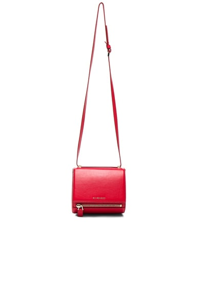 Givenchy Mini Pandora Box in Medium Red