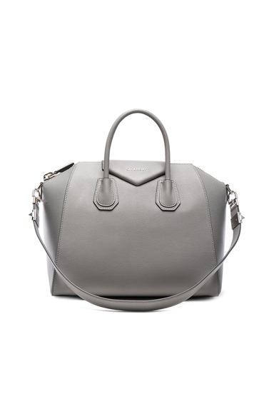 Givenchy Medium Antigona in Pearl Grey
