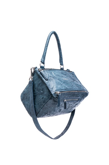 Givenchy Medium Old Pepe Pandora in Mineral Blue