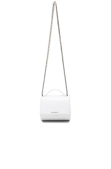 Givenchy Mini Pandora Box Bag in White