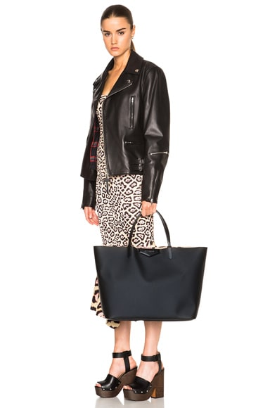 Large Jaguar Lining Antigona Shopping Bag