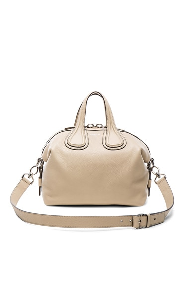 Givenchy Small Waxy Leather Nightingale in Beige Buff