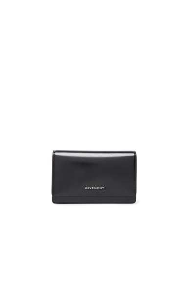 Givenchy Pandora Chain Wallet with Jaguar Lining in Multi