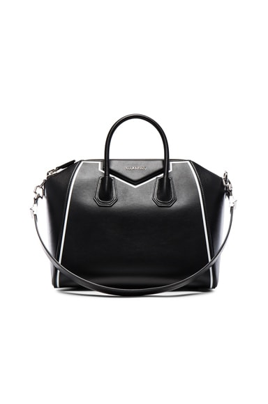 Givenchy Small Contrasted Frame Antigona in Black