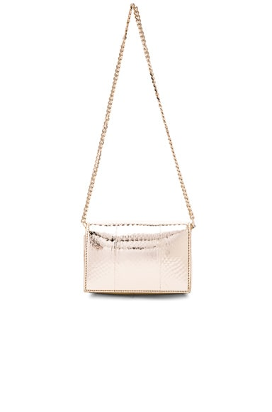 GIVENCHY Minaudiere Chain Ayers Pandora Box in Pale Gold