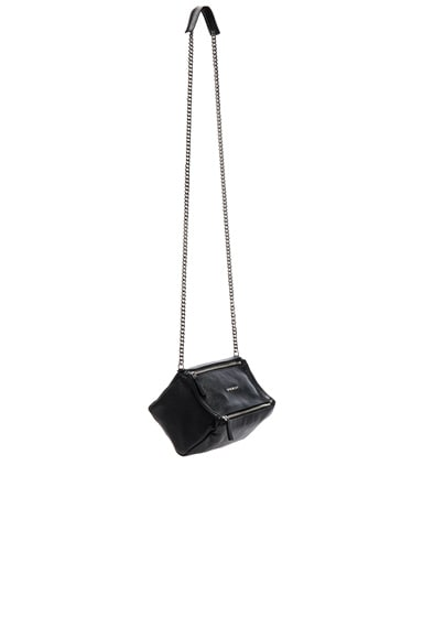 Givenchy Pandora Mini Sugar Chain Bag in Black