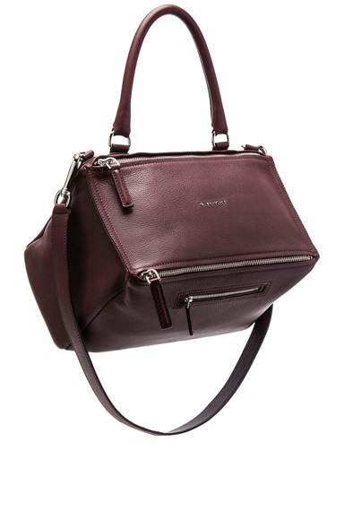 Givenchy Pandora Medium Sugar Bag in Oxblood